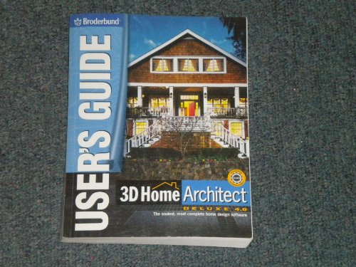 3D Home Architect Deluxe 4.0 - User