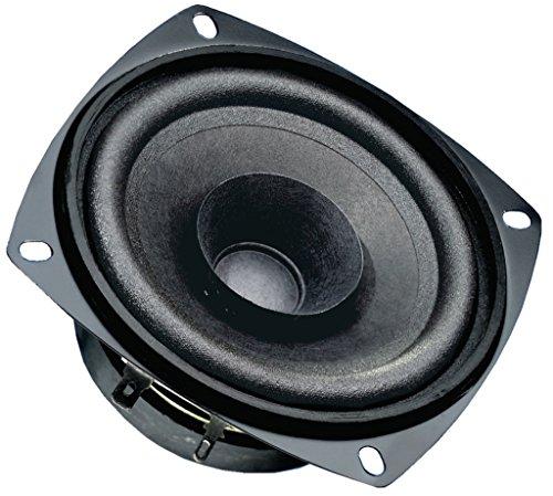 Visaton FR 10 Lautsprecher, universell, Deckenmontage möglich, 10,2 cm (4 Zoll), 30 W / 50 W, 80-20.000 Hz