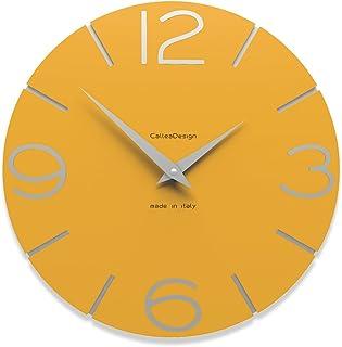 """CalleaDesign 11.8"""" Wall Clock Smile Melon"""