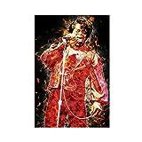 James Brown Sänger Schauspieler Leinwand Poster