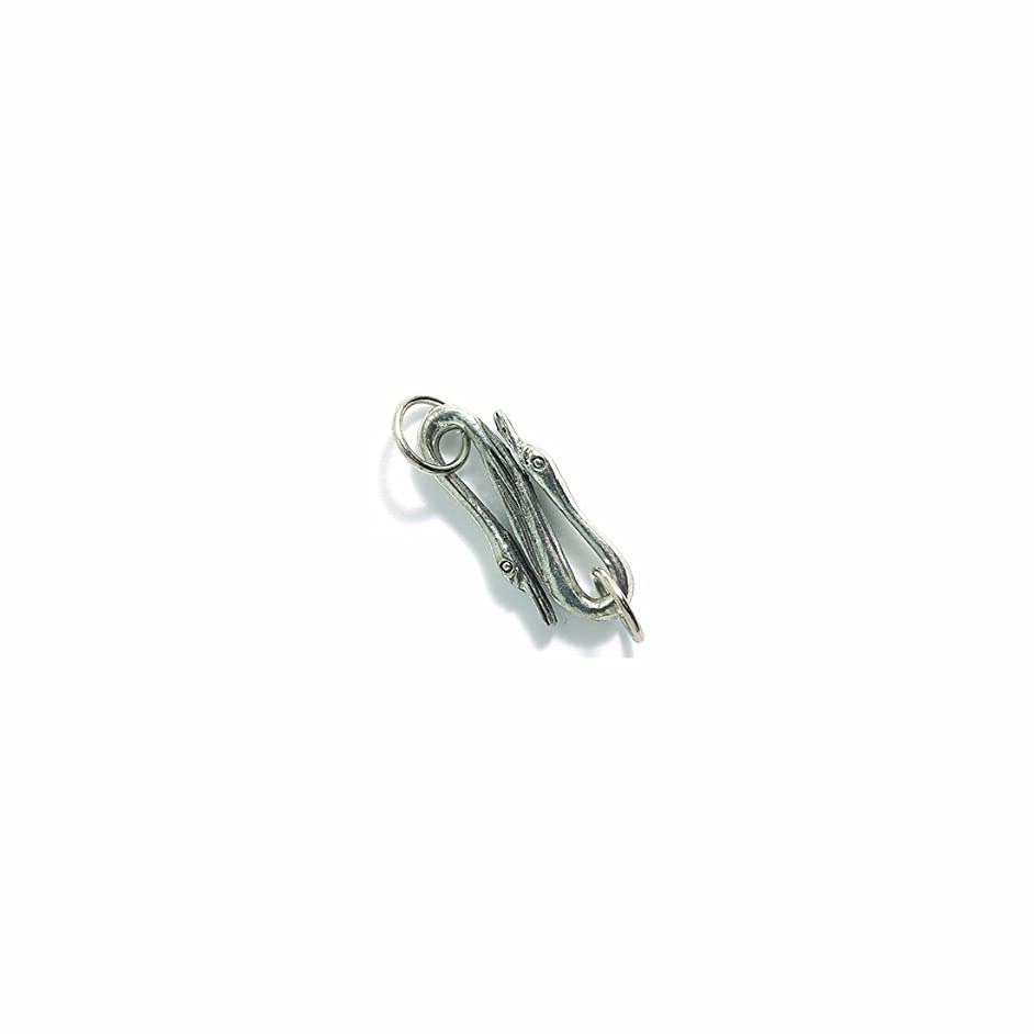 Shipwreck Beads Pewter S-Type Swan Clasp, Metallic, Silver, 10 by 26mm, 3-Piece