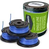 Greenworks .065-Inch Single Line String Trimmer Replacement Spool 3-Pack 29252