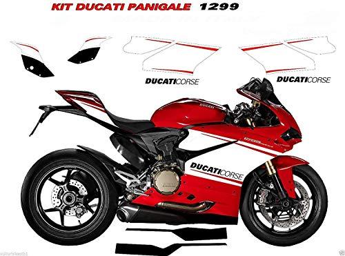 Aufkleber Für Ducati 1299 Panigale Komplett-Set Ducati Corse