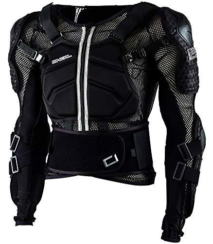 O\'NEAL | Protektoren-Jacke | Kinder | Motocross Enduro | Verstellbare Stretchbänder, Hochschlagfestes IPX®-Material, Mesh-Paneele zur Kühlung | Underdog Protector Jacke Youth | Schwarz | Größe L