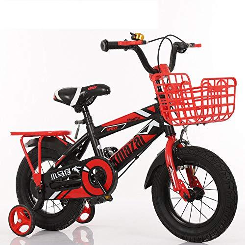 WY-Tong Bicicleta Infantil Bicicletas Infantiles Hombre y niña Universal Plegable Bicicleta de...