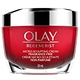 Olay Regenerist Micro-Sculpting Cream Face Moisturizer, Fragrance-Free, 50 ml (packaging may vary)
