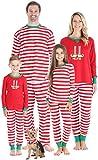 Sleepyheads Conjuntos de Pijama Elfie Christmas Family Mix and Match Pijama de Rayas Rojas Elfie (SHM-5087-I-ELF-EU-12M)