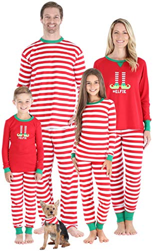Sleepyheads Infant's Striped Elf Pyjama PJ Set, Stripe (SHM-5087-I-STRIPE-EU-0-3M)