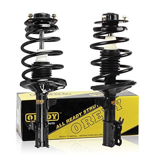 OREDY Driver and Passenger Side Struts Shocks 2PCS Front Coil Spring Shocks and Struts Complete Struts Assembly 171679 171678