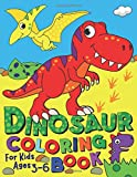 Dinosaur Coloring Book: For kids ages 3-6 (Silly Bear Coloring Books)