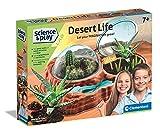 Clementoni - 97858 - Science & Play Lab - Desert Life, Juego botánica Infantil - Juego científico a Partir de 7 años - Fabricado en Italia