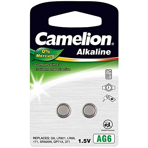 Camelion 12050206AG 6LR69Akku–Mehrfarbig (2Stück)