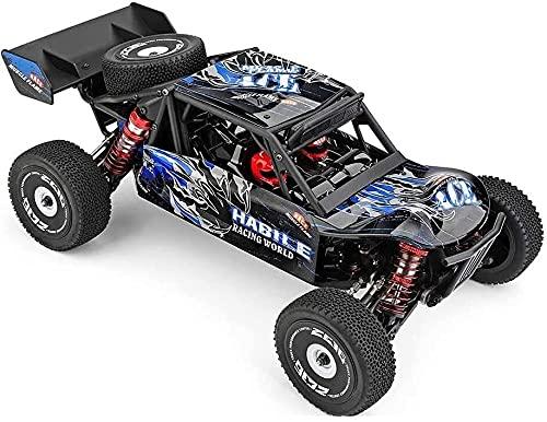 ADSVMEL 4WD Todo terreno RC Coche 60km / h de alta velocidad RC Carga de vehículos RC Camión con UN 2.4 G Distancia de control remoto de 100 metros, calificaciones de racing de calificación de calific