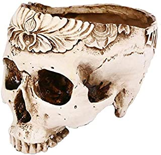 Cigar Ashtray Skull ashtray resin single spooky smoking accessory accessory flowerpot halloween decors bar decor for haunt...