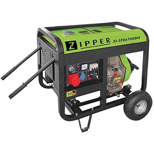 Zipper ZI-STE6700DH Stromerzeuger (Diesel), 740x500x620