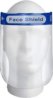Glory Mom Reusable Safety Face Shield, Anti-fog Full Face Shield, Universal Face Protective Visor for Eye Head Protection, Anti-Spitting Splash Facial Cover for Women, Men