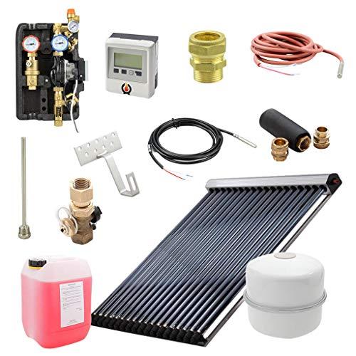 9 m² Solarthermie Paket ohne Speicher