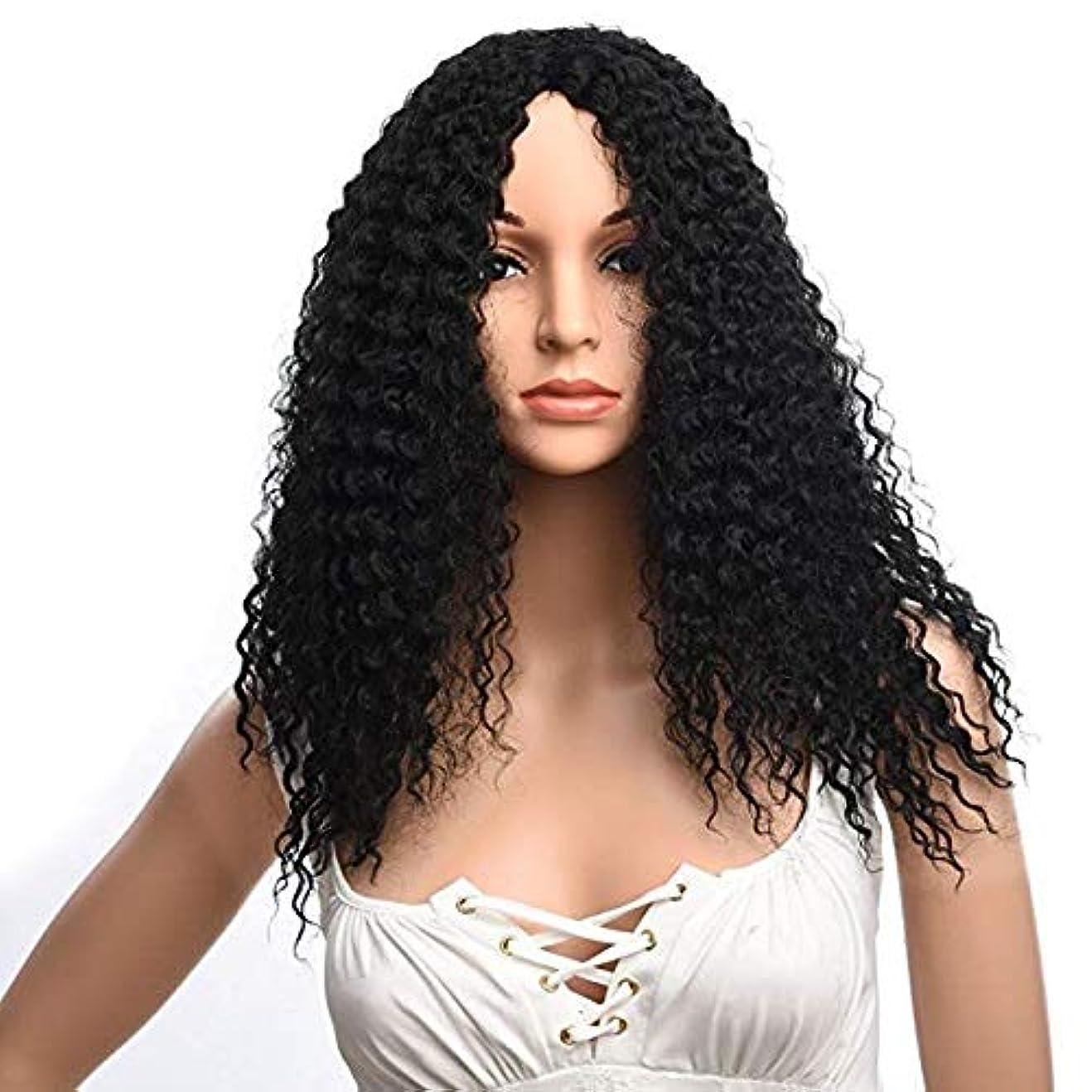 感心する一時停止避難する女性の肩短い髪ふわふわ高温シルクファッションかつら