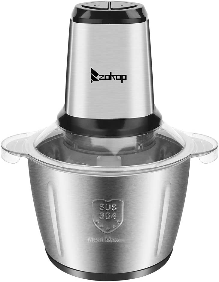 Stainless Steel two-Speed Electric 2021 spring and summer new Meat Grinder Today's only