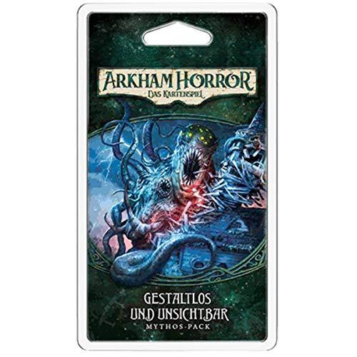 Fantasy Flight Games FFGD1105 Arkham Horror: LCG-Gestaltlos und Unsichtbar Mythos-Pack (Dunwich-4) DEUTSCH