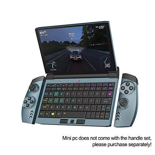 OneGx1 Mini laptop, 7 Inch HD Screen Intel i5-10210Y CPU 8GB RAM 256GB/512GB ROM, With keyboard backlight Video Game Console Portable Pocket Laptop