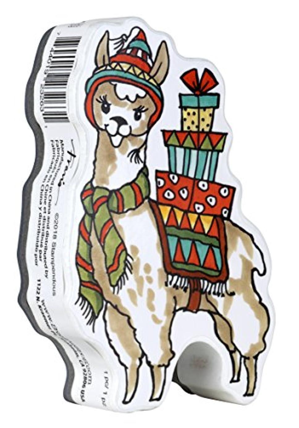 Stampendous Curio Stamp, Llama