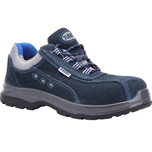 Paredes OSMIO III AZUL PAREDES SP5022-AZ/44 - Zapato seguridad negro y gris, puntera + plantilla Compact No metálica. Modelo OSMIO III AZUL. Categoría S1P HRO SRC - Talla 44