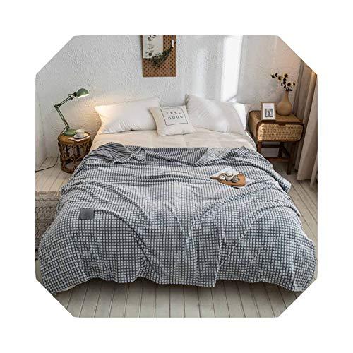 Bed Blanket - Manta de franela suave para sofá, 200 x 230 cm