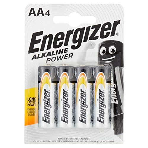 Energizer Batterie Alkaline Power AA/Mignon/LR6 4er-Packung