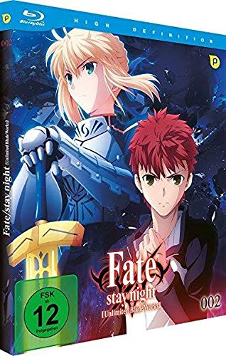 Fate/stay night: Unlimited Blade Works - Vol.2 - [Blu-ray]