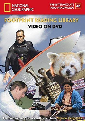 "National Geographic DVD Paket Niveau 2 \""1000\"": 1000 Headwords, A2 (Helbing Languages) (National Geographic Footprint Reading Library / Multimediale ... europäischen Referenzrahmens für Sprachen.)"