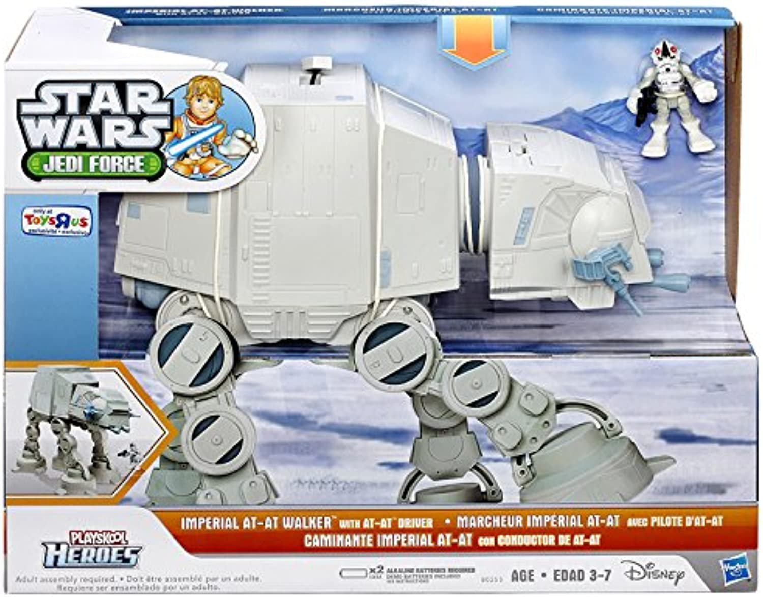 Star Wars Jedi Force Imperial AT-AT Walker [with AT-AT Driver] by Star Wars