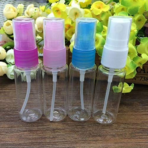 Nologo Ushixishiq Bouteille vide en plastique transparent rechargeable 20 ml