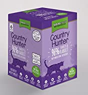 Country Hunter Cat Adult Pouch Turkey & Rabbit 6x85g (Pack of 3)