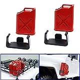 ShareGoo 1/10 Scale RC Rock Crawler Simulation Decoration Accessory Plastic Mini Fuel Tank for Axial Wraith SCX10 EXO AX10 1/10 RC Truck Car,Red