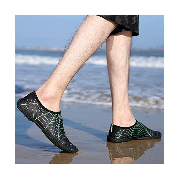 SaphiRose Sports Water Shoes Barefoot Quick-Dry Aqua Yoga Socks for Men Women Kids