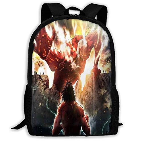 shenguang A-Ttack On Ti-Tan School Bag Shoulder Bag Travel Bags Laptop Bag Backpack for Boys Girls