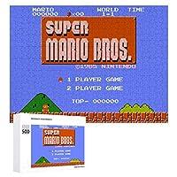 Super Mario ジグソーパズル 1000ピース 絵画 学生 子供 大人 向け 木製パズル TOYS AND GAMES おもちゃ 幼児 アニメ 漫画 プレゼント 壁飾り 無毒無害 ギフト