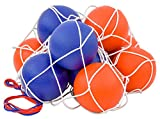 Betzold 100149 - Softball-Set - 10 Schaumstoffbälle im Ballnetz