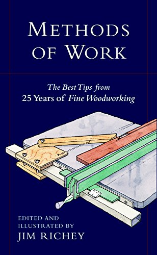 Methods of Work: The Best Tips from 25 Years of Fine Woodworking Four Volume Slipcased Set: Tablesaw, Workshop, Finishing, Router
