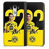 Etui Compatible avec LG G3 Etui Folio Etui magnetique Borussia Dortmund BVB Bundesliga