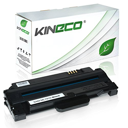 Kineco Toner kompatibel mit Samsung ML-1910 ML-2525W SF-650 ML-1915DSP ML-2581ND SCX-4600FN SCX-4623FN FW - MLT-D1052L/ELS - Schwarz 3.000 Seiten