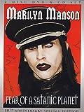 : Marilyn Manson - Fear of a Satanic Planet (+ CD) [2 DVDs] (DVD (Standard Version))