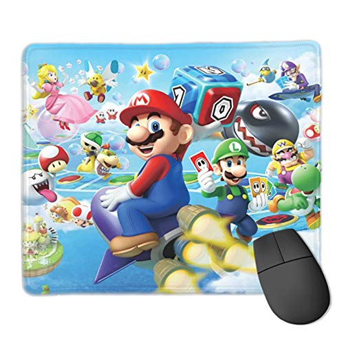 Super Mario Mouse Pad Durable Anti-Fraying Stitched Edges Gaming Mouse Pads for Computers (03)