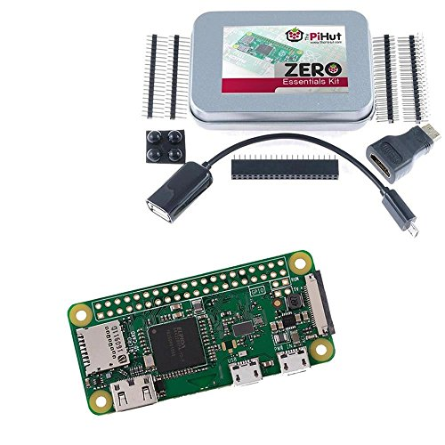 Raspberry Pi Zero W & Zero Essentials Kit