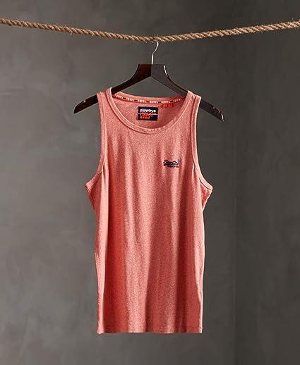 Details about  /Superdry Ol Vintage Embroidery Vest Tank Grenadine Grit All Sizes