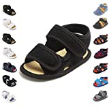 Sawimlgy Baby Boys Girls 2 Straps Summer Dress Sandals Infant Shoes Soft Sole Breathable First Walker Newborn Shoes