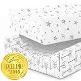 Changing Pad Cover | Arrows and Stars | 100% Premium Jersey Knit Cotton