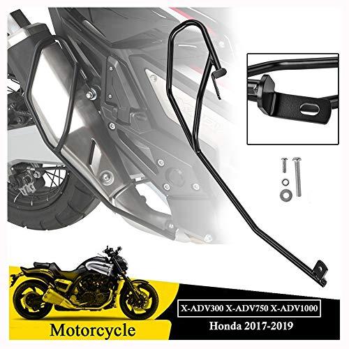 FATExpress XADV300 XADV750 XADV1000 Motocicleta Colisión Varilla Tubo de Escape Protector Protección Marco Montaje Cubierta para 2017 2018 2019 Honda XADV X ADV X-ADV 750 300 1000 17-19