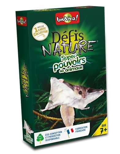 BIOVIVA - Défis Nature - Super pouvoirs des animaux - Jeu de société ludique dès 7 ans - 280266